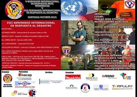VIII Seminario Internacional de Respuesta al Desastre