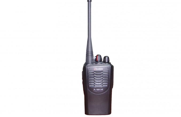 PL – 3000 UHF Portátil Radiotransmisor Plumer *** Producto Descontinuado ***