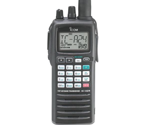 IC – A24 VHF Portátil Aéreo Radiotransmisor ICOM