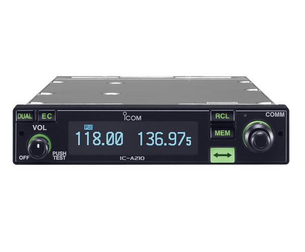 IC – A210 VHF Móvil Aéreo Radiotransmisor ICOM