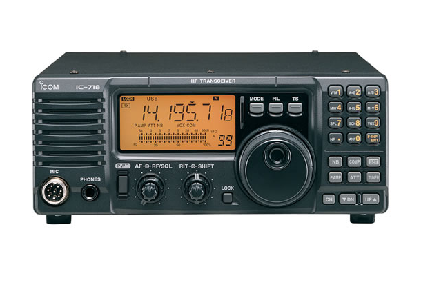 IC – 718 Móvil Radio Aficionado Radiotransmisor ICOM