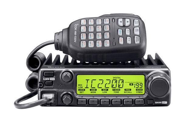 IC – 2300H Móvil Radio Aficionado Radiotransmisor ICOM