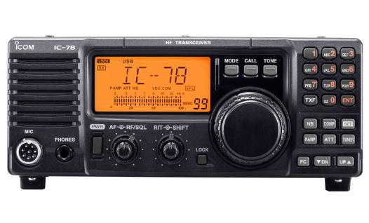 IC – 78 Móvil Radio Aficionado Radiotransmisor ICOM