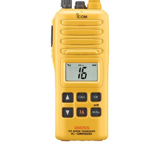 IC – GM1600 Portátil Marino Radiotransmisor ICOM
