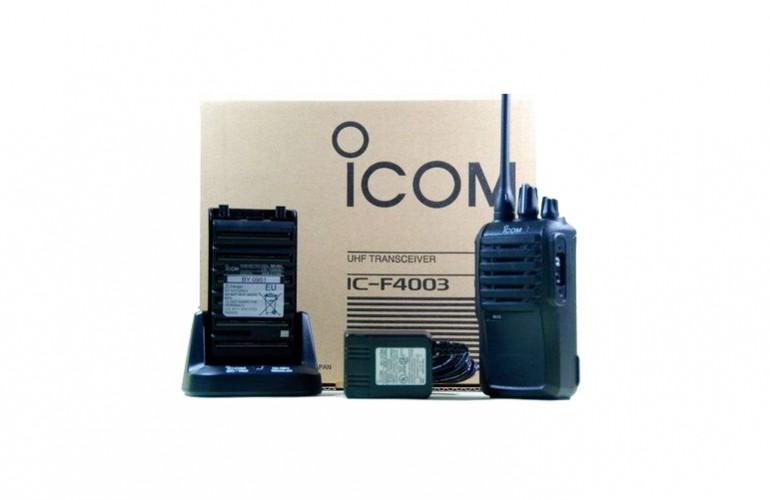 IC – F4003 Portátil Radiotransmisor ICOM