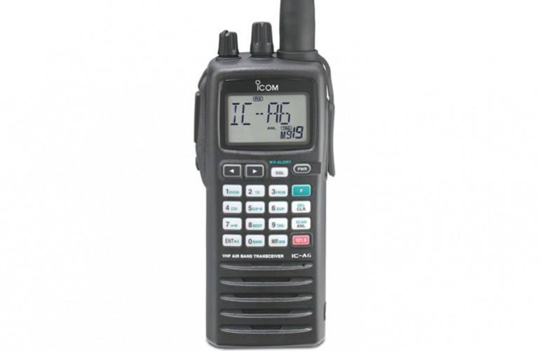 IC – A6 VHF Portátil Aéreo Radiotransmisor ICOM