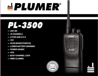 Plumer PL-3500 *** Producto Descontinuado ***