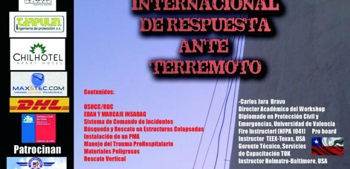 V Workshop Internacional de Respuesta ante Terremoto